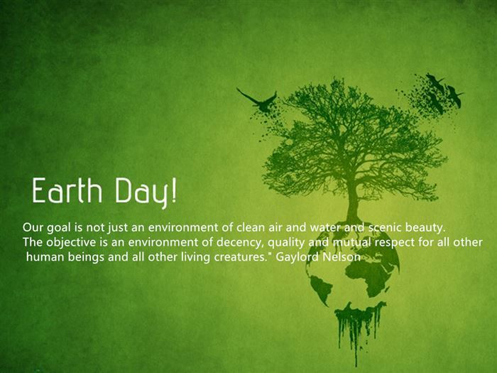 earth day 2021 message