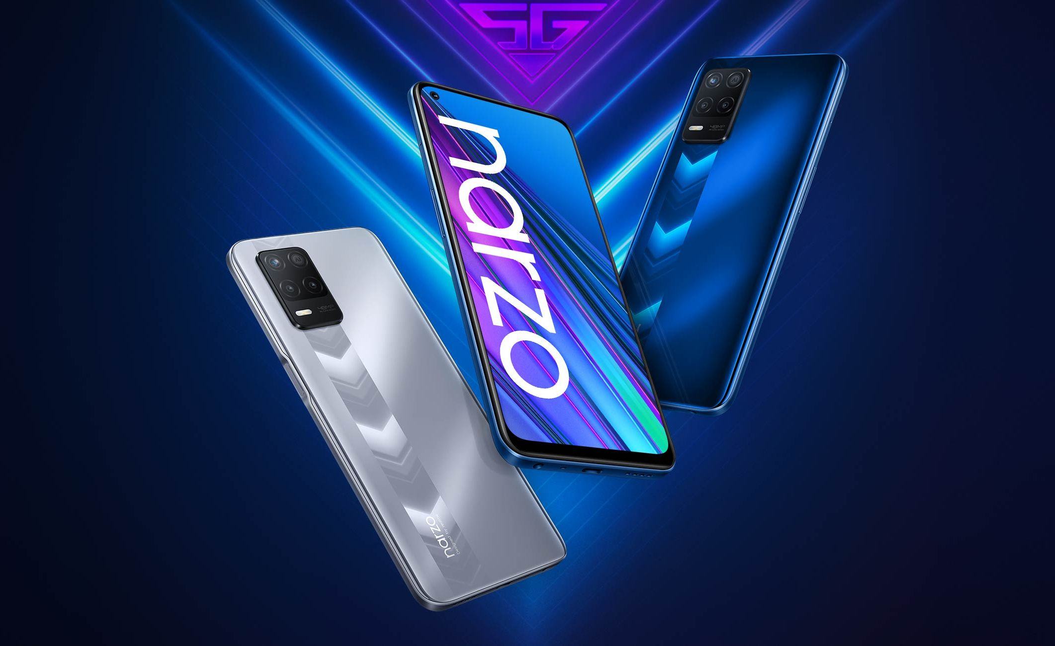 Realme Narzo 30, Realme Narzo 30 5G Launched in india – Specifications, Price, Availablity