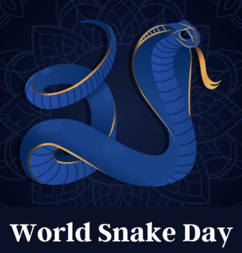 World Snake Day 2021 - Date, History, Theme, Meaning, Significance, Celebration, Facts, Snakes Skills, Why snakes Are Endangered? Images, Posters, Wallpapers, Banners, Cards, Drawings