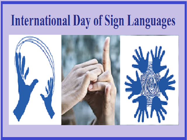International Day of Sign Languages 2021 – Date, History, Importance,  Facts, Significance, Celebration, Activities, Theme, Quotes, Wishes, Messages, Posters, Banners, Images, Pictures, Drawings