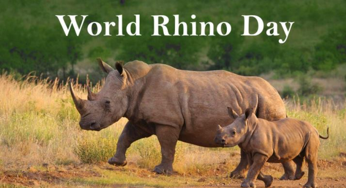 World Rhino Day 2021 – Date, Theme, History, Significance, Celebration, facts, Species of Rhinos, Images, Posters, Banners, Quotes and many more